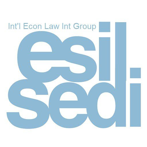 Co-Sponsor - ESIL Int'l Economic Law Interest Group